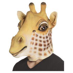Giraffmaske i lateks