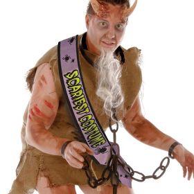 Satin sash, Scariest costume