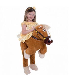 Prinsesse Belle piggyback ponni
