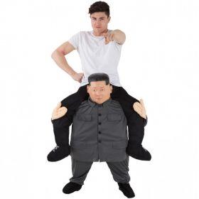 Kim Jong Un Piggyback