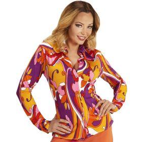 Fargerik Hippie Dameskjorte