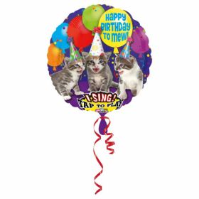 Folieballong Tap-to-Sing, Happy Birthday to Mew