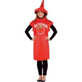 Kostyme Ketchupflaske