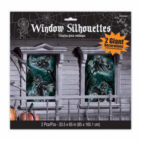 Vindu silhouette haunted house