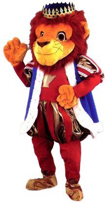 Løvekonge maskot