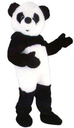 Panda maskot