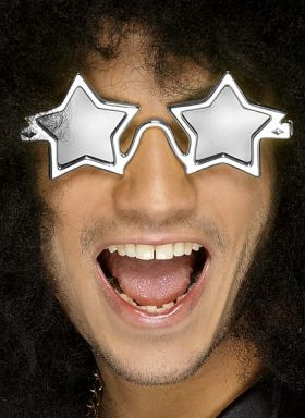 Stjernebriller, sølv