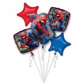 Ballongbukettt Spiderman