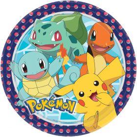 Tallerken Pokemon, 8 stk