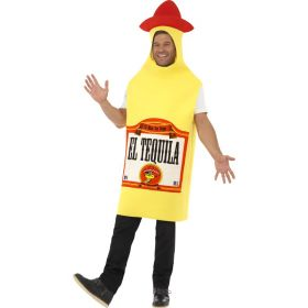 Tequila flaske kostyme