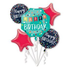 Ballongbukett, Happy Birthday mix