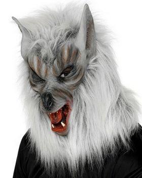Ulvemaske Silver