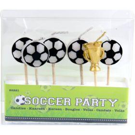 Kakelys Fotball m/Trofe 6 stk