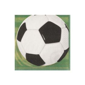 Fotballservietter, 16 stk.