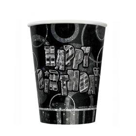 Glitz Birthday Black, 8  kopper
