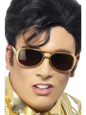 Elvis briller, gull