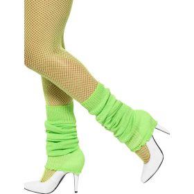 Neon Grønne Leggvarmere