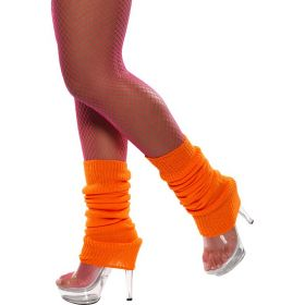 Neon Oransje Leggvarmere