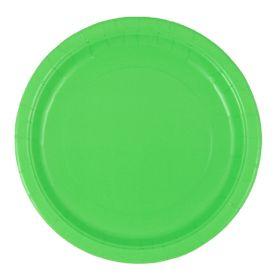 Limegrønne tallerkener, 16 stk