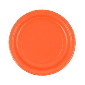 Oransje asjetter, 20 stk.