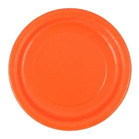 Oransje tallerkener, 16 stk.