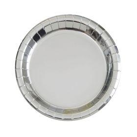 Sølv asjetter 8 stk.