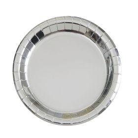 Sølv tallerkener 8 stk.