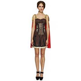 Kvinnelig gladiator kostyme
