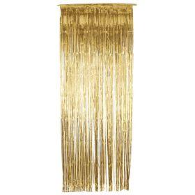 Gull glittergardin
