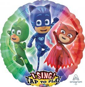 Folieballong Tap-to-Sing, PJ Masks