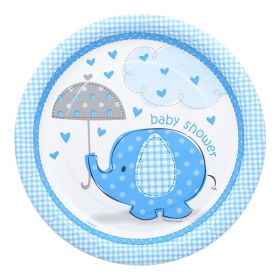 Umbrellaphants Blue, 8 tallerkener
