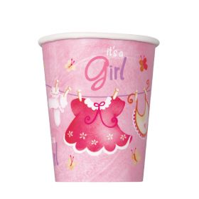 Baby Pink Clothesline, 8 pappkrus