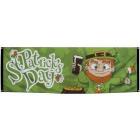 Stor St. Patricks day banner
