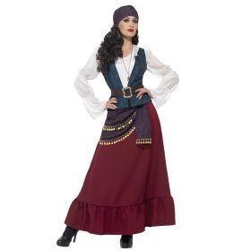 Piratkjole Buccaneer Deluxe