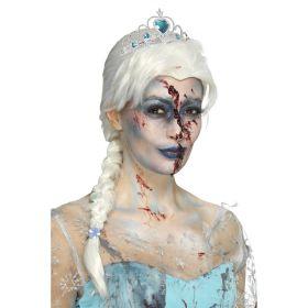 Zombie Elsa parykk