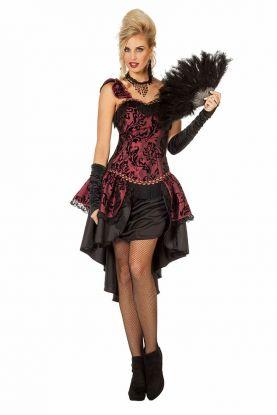 Burlesque Kostyme