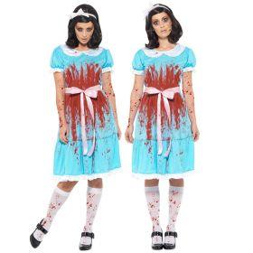 Blodig tvillingkostyme