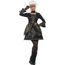 Gotisk maskeradeballkjole
