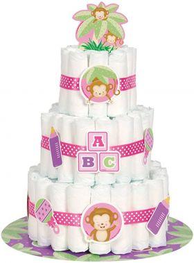 Diaper Cake Kit, rosa