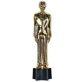 Statuett, mann