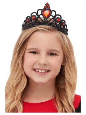 Sort tiara barn