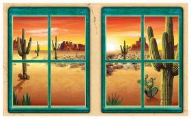 Veggdekorasjon, vindu, Desert