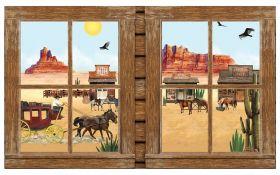 Veggdekorasjon, vindu, Western