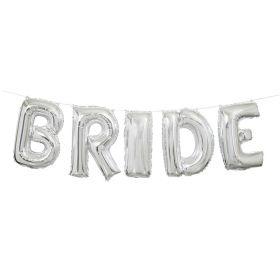 Bride folieballong banner