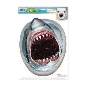 Dekorasjon, toalett, Shark