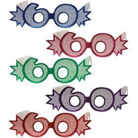 Pappbriller, 60 år, Blå