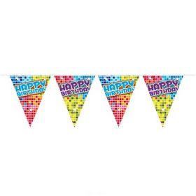Mini-vimpelrekke Happy Bday