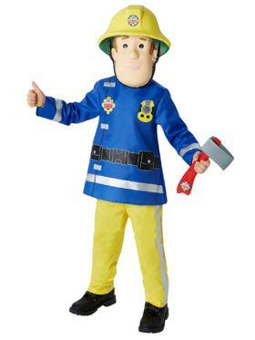 Brannmann Sam kostyme til barn