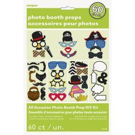 Photo props pakke 60 motiv