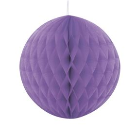 Honeycomb ball 20 cm, lilla